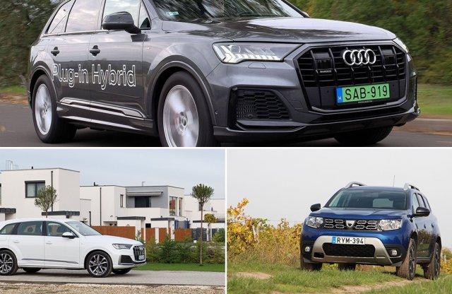 Podcast távolságtartással: két Audiról és egy Daciáról