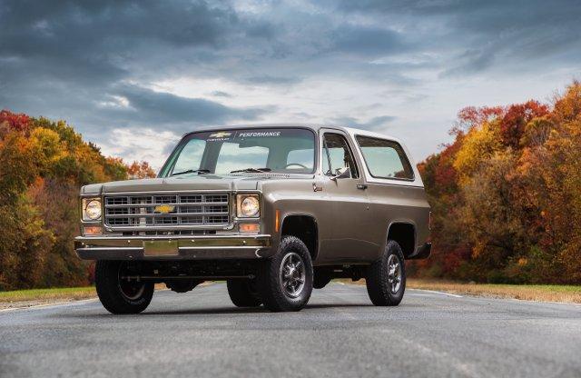 Ez a '77-es Chevy Blazer már nem benzintől tépi fel az aszfaltot