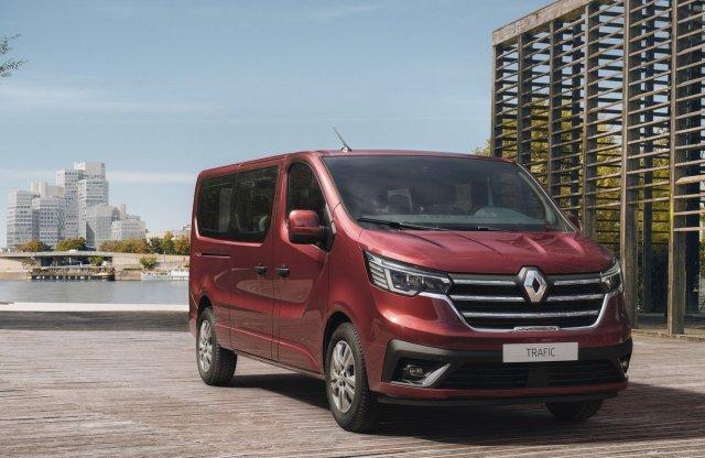 Modernebb, biztonságosabb és praktikusabb az új Renault Trafic