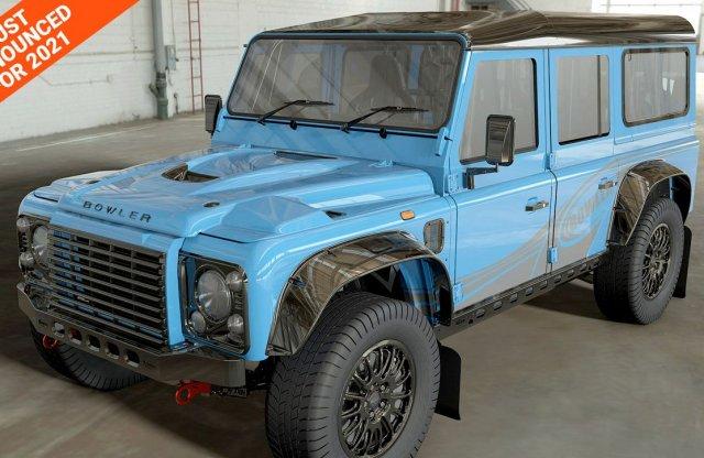 575 lóerővel tér vissza az eredeti Land Rover Defender