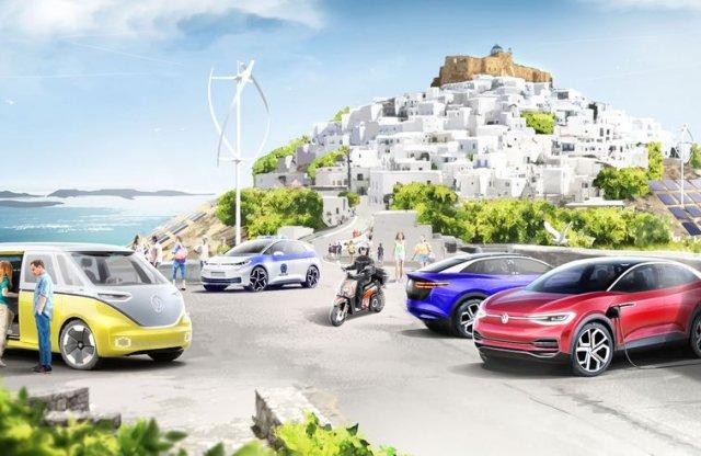 Elektromobilitás-utópiát épít a VW a görög kormánnyal karöltve