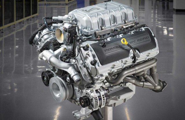 Dobozban is hazavihető a Shelby GT500 motorja