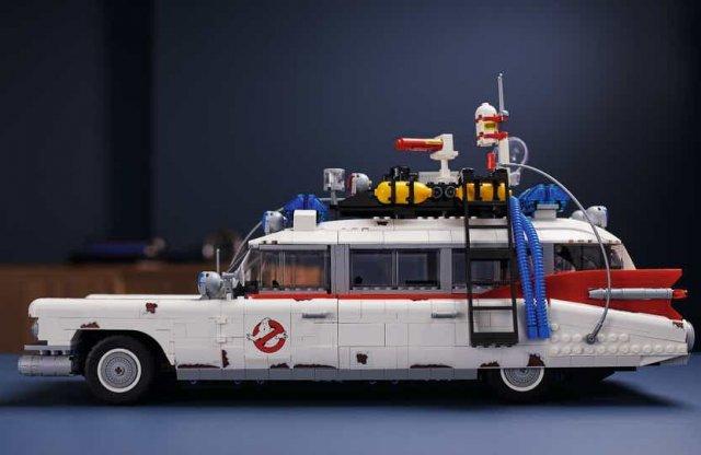 Épp időben a szigorításokra: bemutatkozott a LEGO ECTO-1