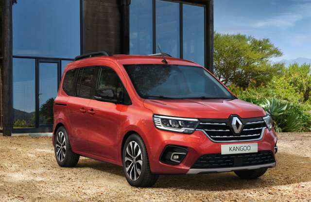 Megmutatta az új, egész vagány  Kangoo/Express párost a Renault