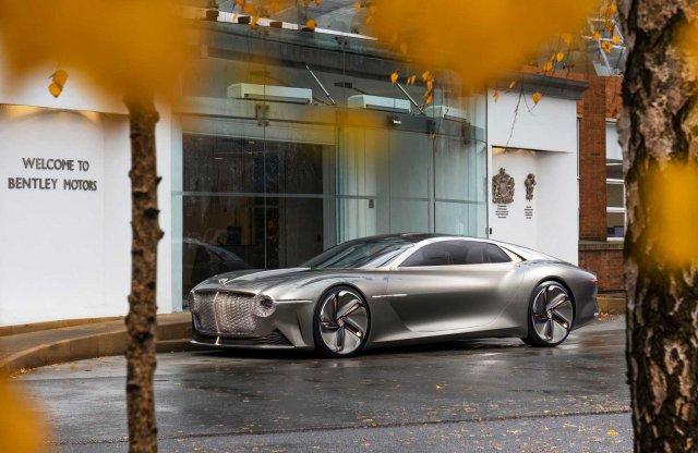 Villanyautós márka lesz a Bentley is