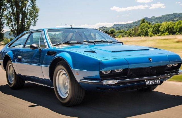 50 éves az olaszok egyik legszebb bikája, a Lamborghini Jarama