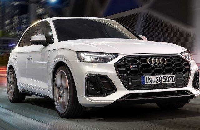 Kés alá küldték az Audi SQ5-öt is