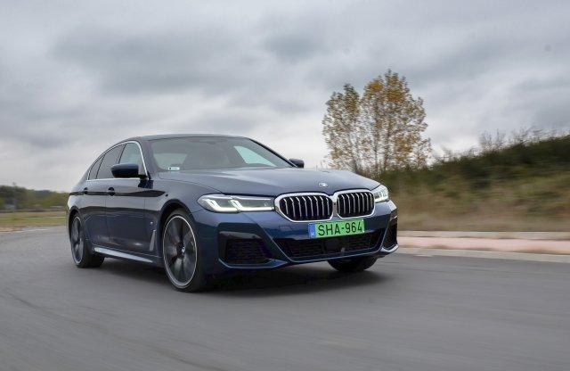 Ez a magyarok kedvenc 5-öse? – BMW 530e