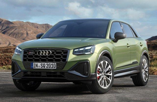 Látványból többet, erőből ugyanannyit ad a frissített Audi SQ2