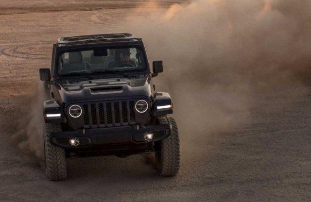 6,4 literes V8-as motort kapott a Jeep Wrangler