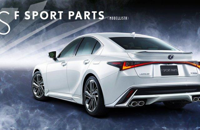 A Toyota szinte összes részlege kezelésbe vette a Lexus IS-t