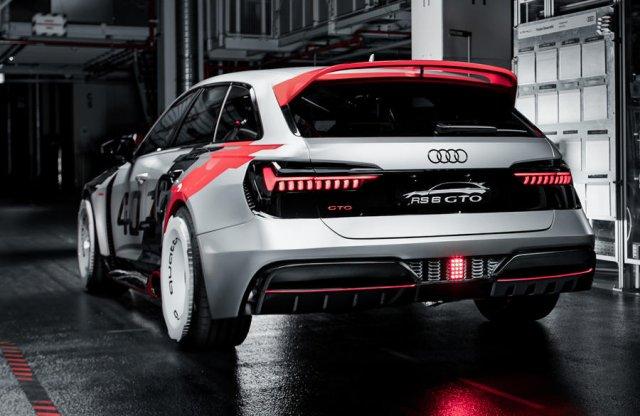 Az Audi RS6 GTO a legvadabb álmaid oldalkipufogós versenygépe