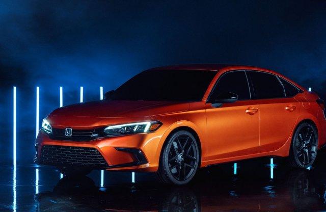 Itt az új Honda Civic