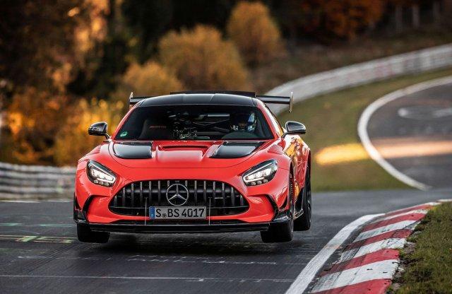 Rekordidőt futott az új AMG GT Black Series a Nordschleifén