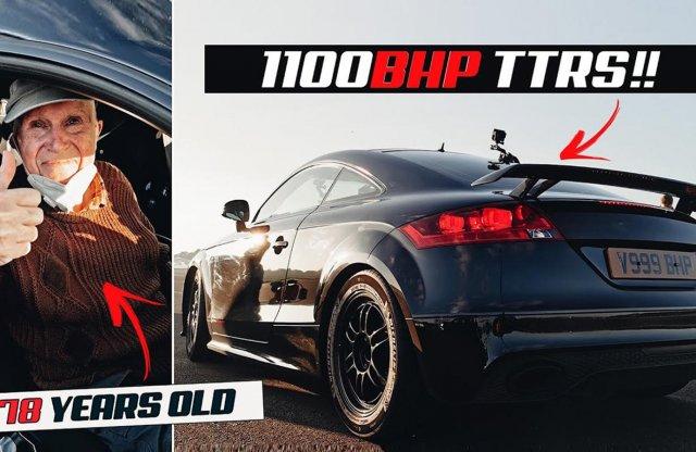 Egy nyugdíjasé a világ leggyorsabb Audi TT-je