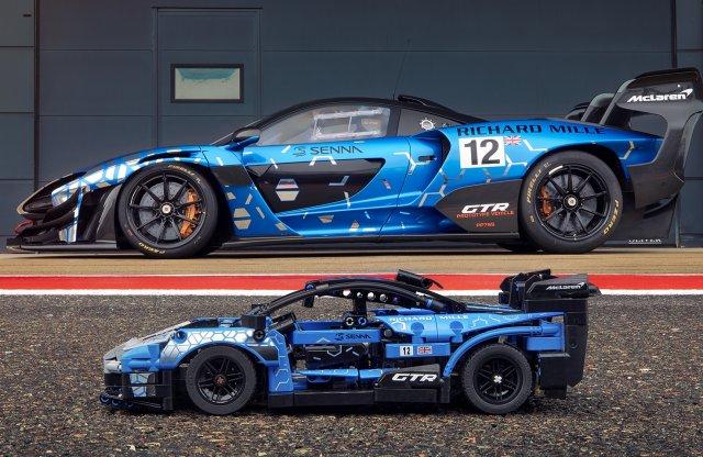 Első McLaren készletét adta ki most a LEGO Technic
