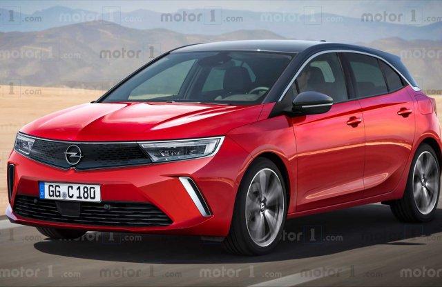 Elektromos segítséget kaphat az új Opel Astra OPC