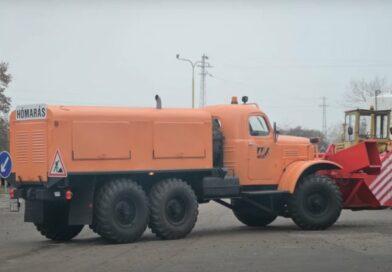 50 éves a Magyar Közút egyik legöregebb járműve
