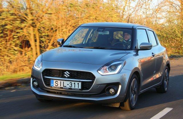Csak semmi rohanás – Suzuki Swift 1.2 Hybrid CVT