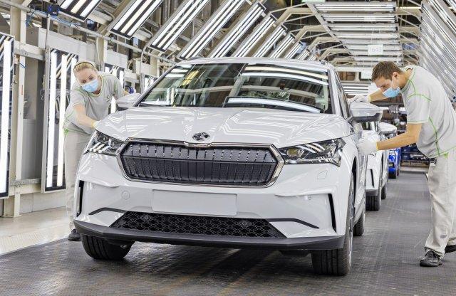 Már gyártják a Škoda első villanyautóját