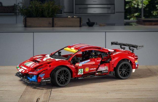 Érkezik a LEGO Technic történetének első Ferrarija