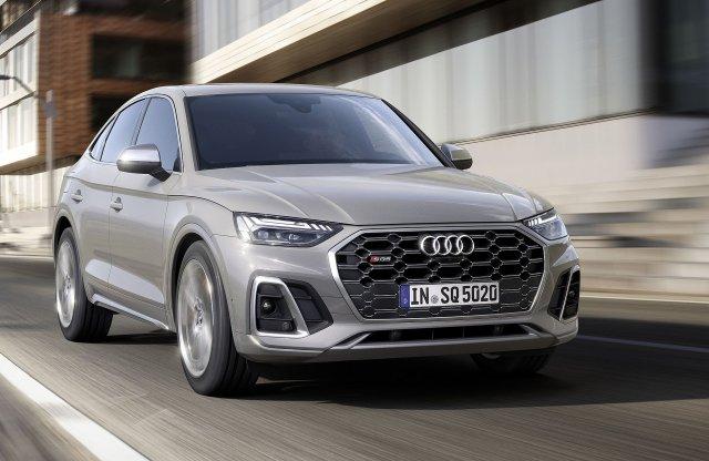 Dízelmotorral jön az Audi SQ5 Sportback