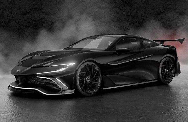 1000 lóerőt tud a legújabb, négyszemélyes hiper-GT