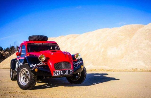 Két motorral hódította meg az Atlasz csúcsait a Citroën Kacsa