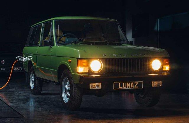 Hiába negyven éves, villannyal is suhanhat a veterán Range Rover