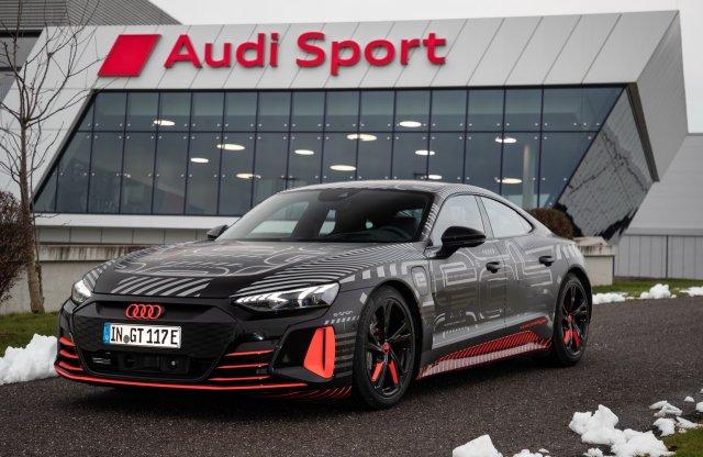 Beindult az Audi e-tron GT gyártása