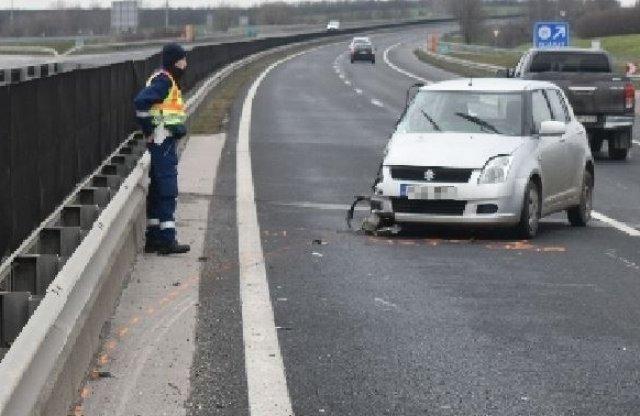 77 éves nő ment szemben az M6-oson, balesetet okozott