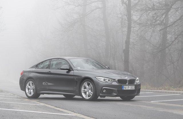 Van helye a világban – BMW 425d