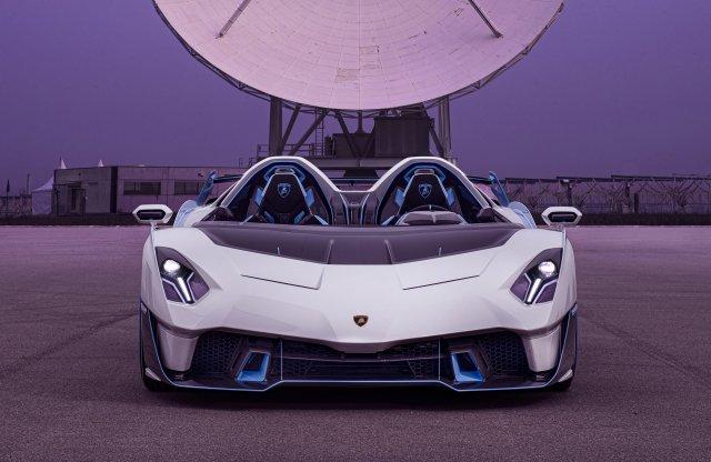 Egyetlen darab készül ebből az utcai Lamborghini versenyautóból