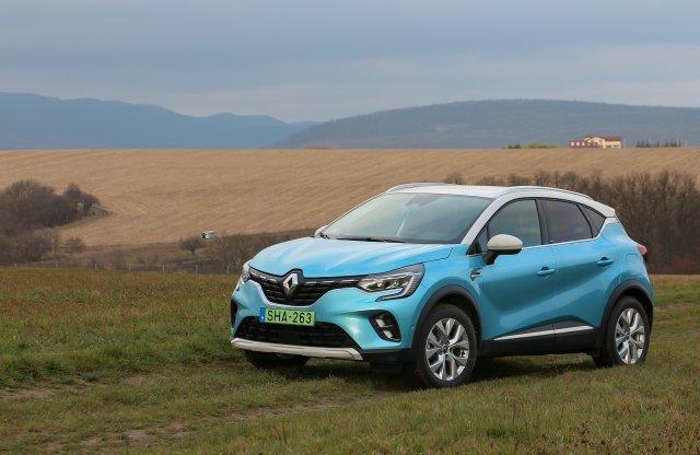 Mindent is tud? Renault Captur E-TECH PHEV teszt