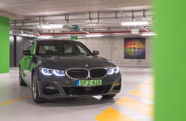 Beszéljünk a zöldségekről – BMW 330e Touring