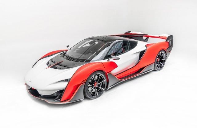 Sabre, a leggyorsabb kétüléses McLaren