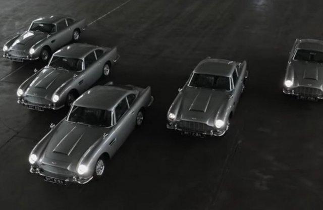 Igazi James Bond autók készültek el az Aston Martinnál