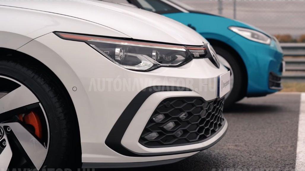 Volkswagenek csatája: vajon gyorsabb a Golf GTI az ID.3-nál?