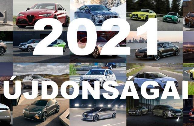 21 új modell, ami 2021-ben érkezik