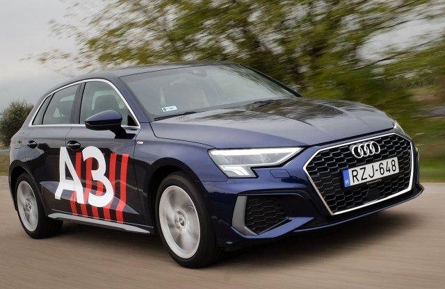 Közepes tanuló? – Audi A3 Sportback S line 35 TFSI teszt