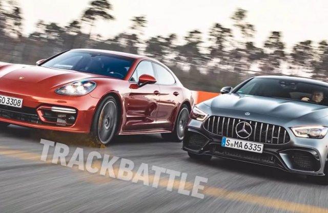Ismét egymásnak feszült a Porsche Panamera és a Mercedes-AMG GT