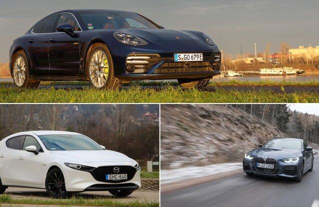 1254 lóerő, egy Porsche, egy BMW és egy Mazda a heti podcastban