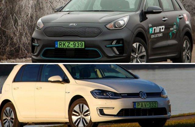 Még egy kis piacozás: a villanyautóknál a Kia Niro és a VW vezet