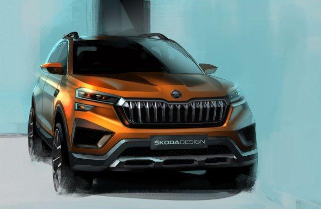 Új Skoda SUV érkezik, neve is tartja a trendeket