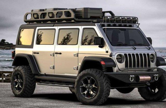 Ilyen lenne a Jeep Wrangler, ha egyterűnek születik