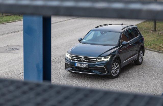 Hol itt a frissítés? – Volkswagen Tiguan teszt