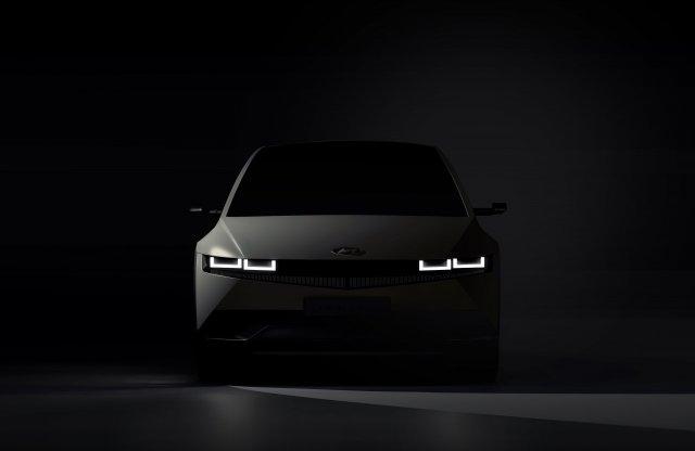 Megérkeztek az első képek a Hyundai elektromos crossoveréről