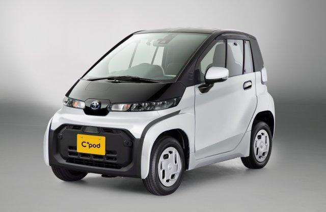 Még a smartnál is kisebb városi villanyautót villant a Toyota!