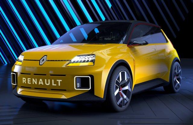 Elektromos autóként tér vissza a Renault 5