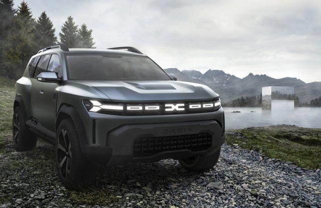 Bigster, az eddigi legnagyobb Dacia érkezik